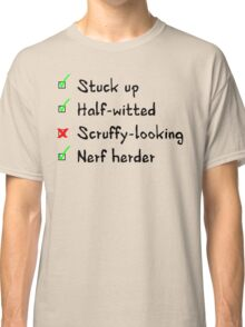 What Han objects to? Classic T-Shirt