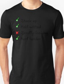 What Han objects to? Unisex T-Shirt