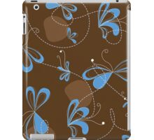 abstract floral pattern iPad Case/Skin