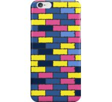 colorful bricks iPhone Case/Skin