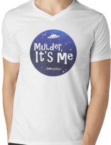 Mulder, It's Me Mens V-Neck T-Shirt
