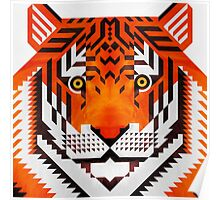 Triangle Tiger Poster