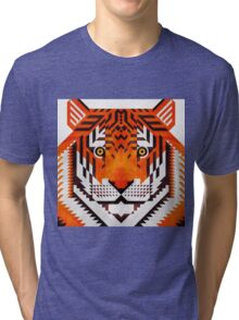 Triangle Tiger Tri-blend T-Shirt