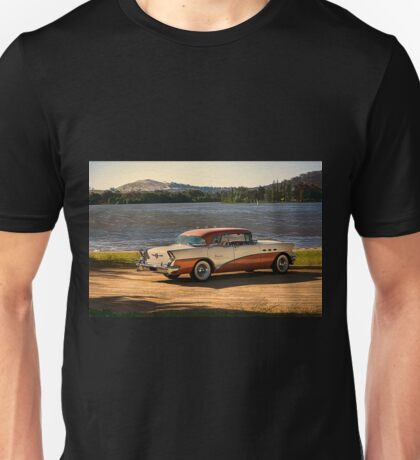 1956 Buick 3 Unisex T-Shirt