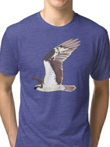 Osprey Bird Flying Tri-blend T-Shirt