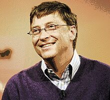 celebrities  bill gates 2 by Adam Asar