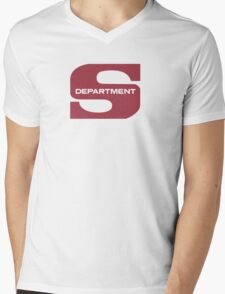Department S Mens V-Neck T-Shirt