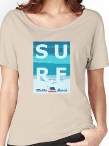 Malibu - California. Women's Relaxed Fit T-Shirt
