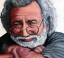Jerry Garcia by Tom Roderick