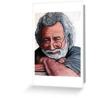 Jerry Garcia Greeting Card