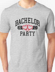 Bachelor Party 2013 Handcuffs T-Shirt