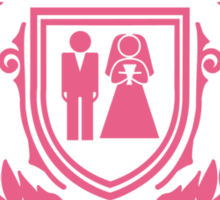 Bachelorette Party Game Over Sticker