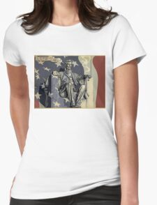 Abes Night In Womens Fitted T-Shirt