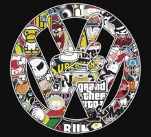 VW Victory StickerBomb by Barbo