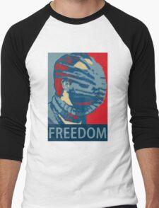 Vote Facehugger Men's Baseball ¾ T-Shirt