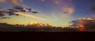 Reflected Sunset by Nigel Bangert