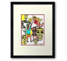 Keeping Love Alive  Despite The Faces Of Fear Framed Print