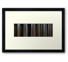 Moviebarcode: Butch Cassidy and the Sundance Kid (1969) Framed Print