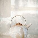 Abstract Teapot by Elena Ray