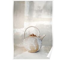 Abstract Teapot Poster