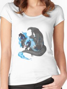 Charizard Mega Evolution X Women's Fitted Scoop T-Shirt
