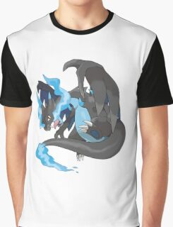 Charizard Mega Evolution X Graphic T-Shirt