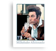 Milkshake Aficionado Canvas Print