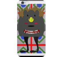evil monster iPhone Case/Skin