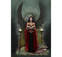 Dark Angel Protector Photographic Print