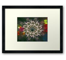 Debbie's Bunch of Flowers Framed Print