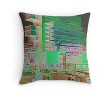 The Filing Cabinet Spinningfields Manchester Throw Pillow