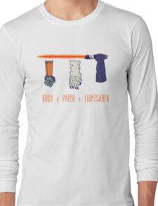 Rock Paper Lightsaber Long Sleeve T-Shirt