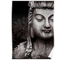 Thoughtful Buddha  Poster