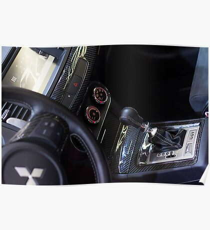 Mitsubishi Lancer Evolution X Exchange [ Print & iPad / iPod / iPhone Case ] Poster