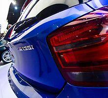 BMW M135i back [ Print & iPad / iPod / iPhone Case ] by Mauricio Santana