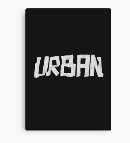 Urban Marker Canvas Print