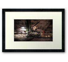 """""""Helikopter 9"""" Framed Print"""