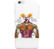 Muscles the Clown iPhone Case/Skin