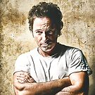 celebrities  bruce springsteen by Adam Asar