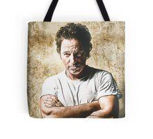 celebrities  bruce springsteen Tote Bag