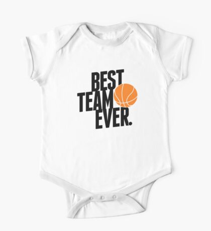 Best Team Ever - Basketball One Piece - Short Sleeve