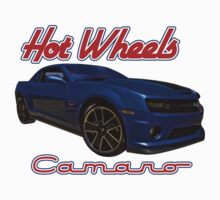 Hot Wheels Camaro Poster One Piece - Short Sleeve
