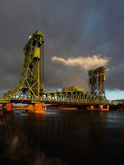 The Tees Newport Bridge, Middlesbrough by PaulBradley