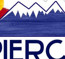 Pierce Colorado wood mountains Sticker