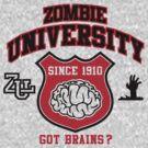 Zombie University by Cheesybee