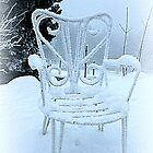 Frosty Garden Chair by ©The Creative  Minds