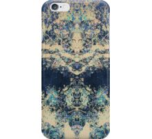 Fall of the Blue - Abstract iPhone Case/Skin