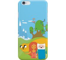 Adventure time x spirited away  iPhone Case/Skin