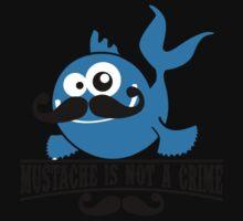 Mustache is not a crime Kids Tee