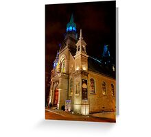 Notre-Dame de Bonsecours Chapel Greeting Card